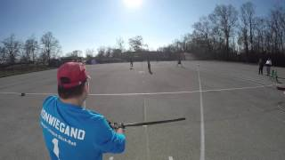 Major League Stickball 2015 12 05 Bulls at Pelham Game 1