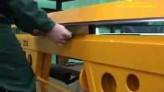 Zaginanie gięcie blachy w pudełko brytfankę z 4 stron