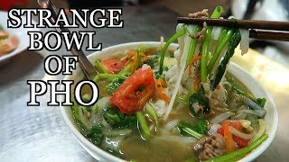 UNUSUAL PHO HANOI VIETNAM STREET FOOD - PHO AP CHO