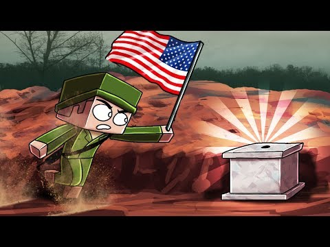 Minecraft | SECRET WORLD WAR 2 OPERATION! (Capture the Flag Challenge)