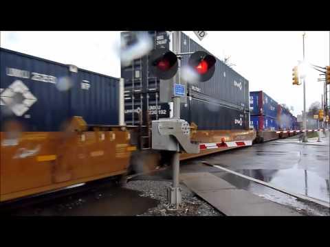 CSX Q004 Detour on NYS&W at Oak Ridge & Oakland NJ 2014-04-15