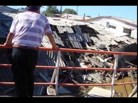curanilahue imagenes terremoto