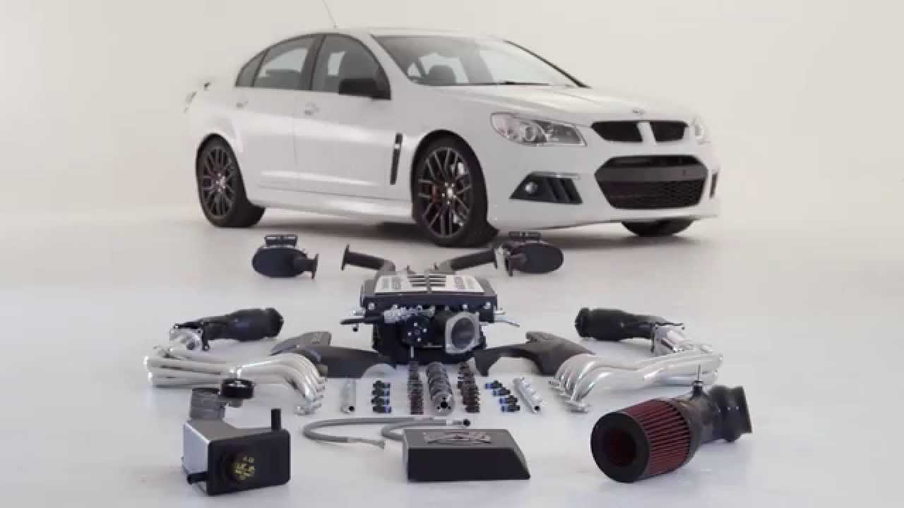 Walkinshaw Performance takes the LS3 6 2-liter V8 engine to 744 PS