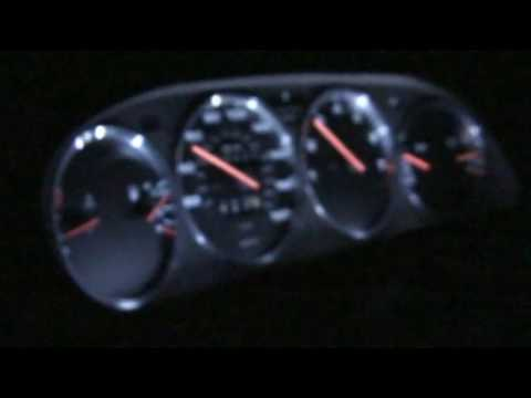 Porsche 928 944 968 Instrument Gauges White LED Lighting And Bezels