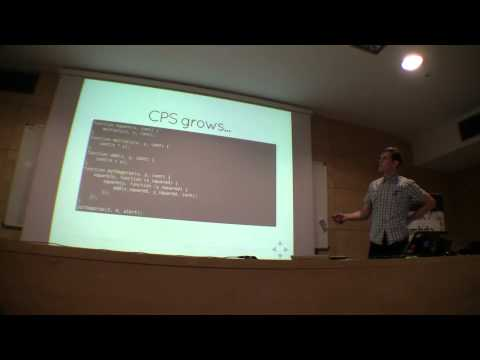 Lambda Days 2015 - Grzegorz Rożniecki - Weird world of continuations