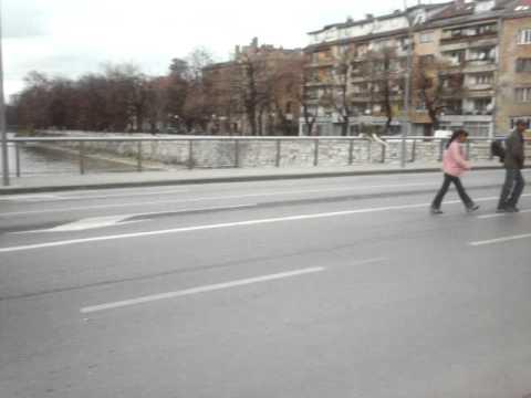 The Vrbanja Bridge Sarajevo Bosnia