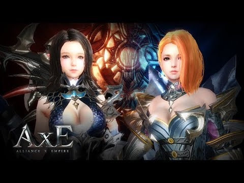 AxE - Character Creation - Android On PC - F2P - Mobile