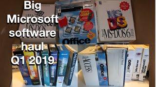 Big Microsoft Software Haul in Q1 2019