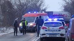 Тежка катастрофа между турски тирове взе жертва на пътя Русе-Бяла