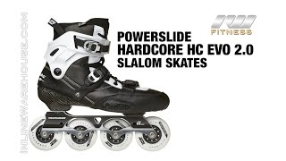 Powerslide Hardcore HC Evo 2.0 Slalom Skates Review