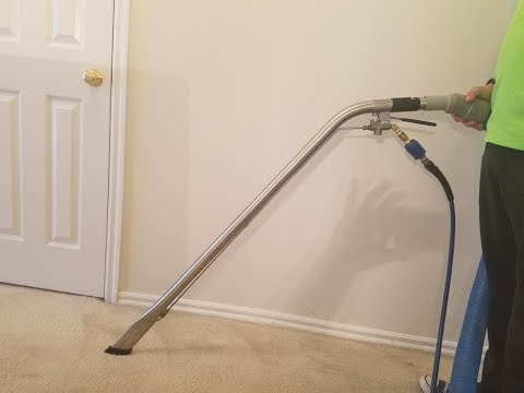 How to clean black edge of carpet