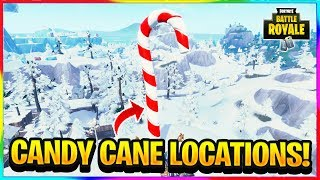 Fortnite Big Candy Cane Locations Cenksms