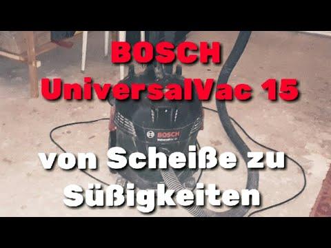 Видео обзор: Пылесос BOSCH UniversalVac 15