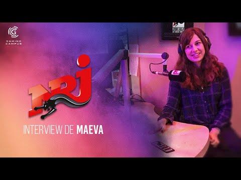 NRJ interview Maeva étudiante Gaming Business School