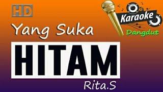 Gambar cover HITAM  Rita Sugiarto, Karaoke Dangdut tanpa vokal