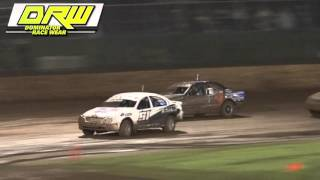 Production Sedans - Silver Helmet Series - Heat 4 - Kingaroy Speedway - 07.11.15