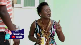 Kansiime the remote control. African Comedy - Kansiime Anne