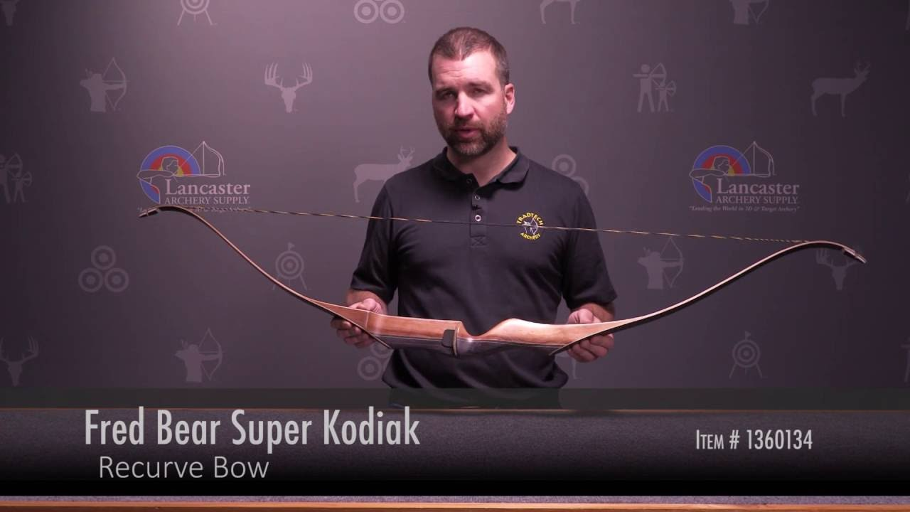 Fred Bear Super Kodiak Recurve Bow Review at LancasterArchery com