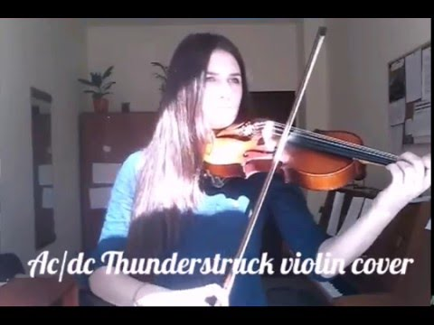 AC/DC Thunderstruck violin cover
