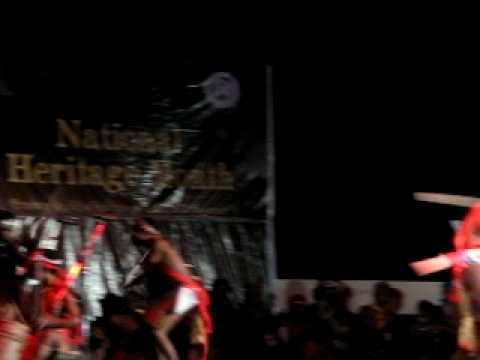 National Heritage Month 2010; Bataks perform