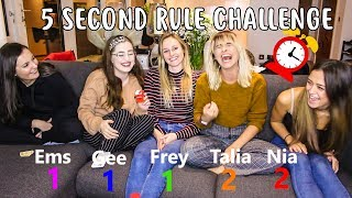 5 second rule challenge feat talia nia emily gee