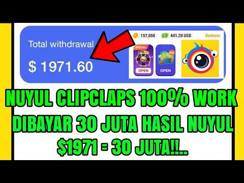 TRIK NUYUL CLIPCLAPS DIBAYAR 30 JUTA TANPA UNDANG TEMAN 100% WORK!!!.