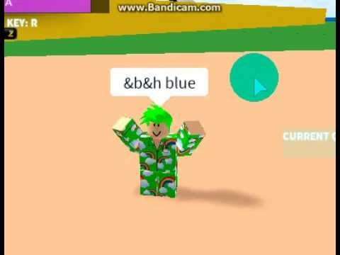 Roblox All Colors Code W Youtube