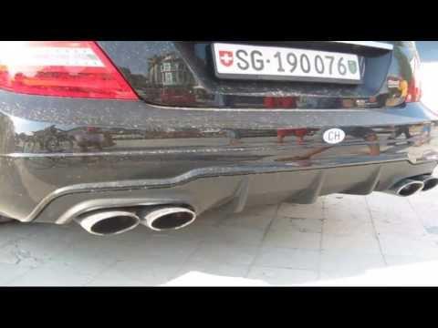Mercedes C63 AMG Goes CRAZY !!!