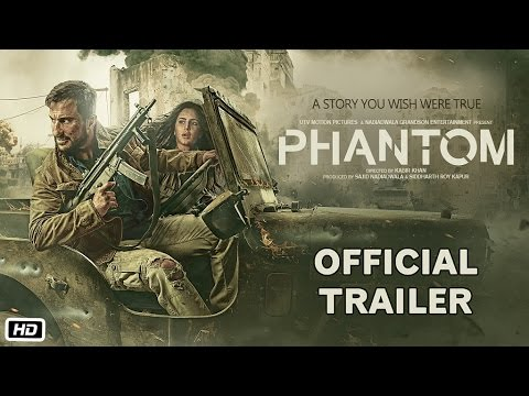 Phantom Official Trailer | Saif Ali Khan and Katrina Kaif | Sajid Nadiadwala | Kabir Khan