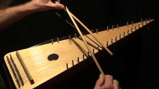 """Greensleeves"" on Bowed Psaltery"