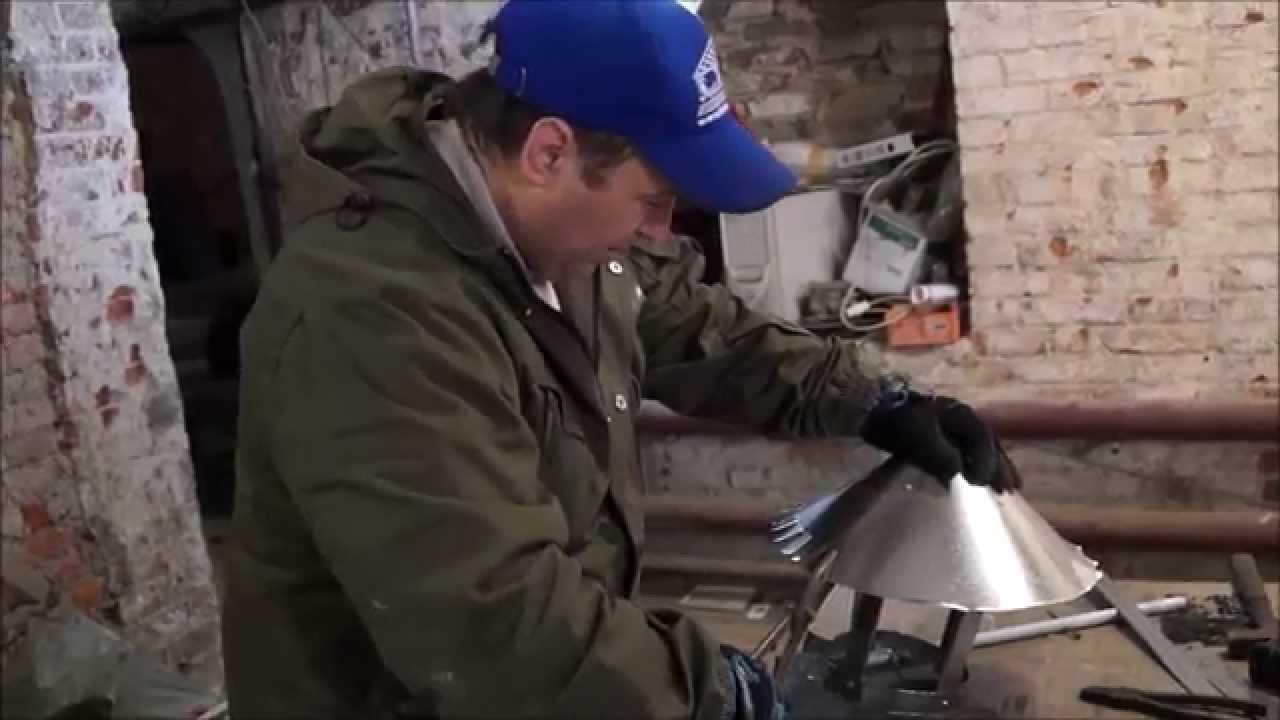 нестандартный кожух для кирпичной трубы - YouTube
