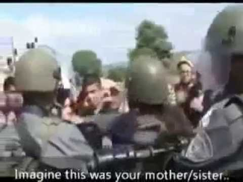 How Na Zionist Soldiers Treat Palestinian Women and Children