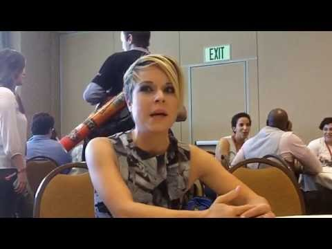 Tina Majorino Interview on 'Legends' at Comic Con