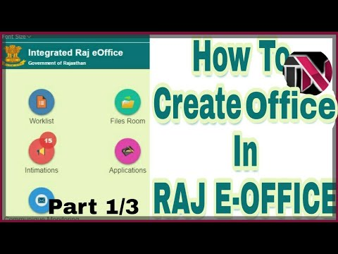 How To Create Office On E Rajasthan Govt Part 1 3