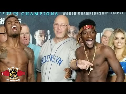 SH*T JUST GOT SERIOUS! CHARLO-LUBIN WEIGH IN FACE OFF