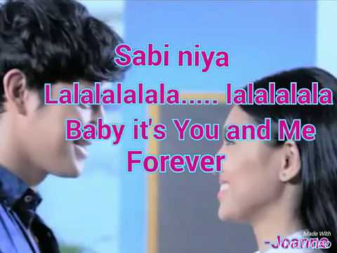 You & Me Forever JaDine lyrics