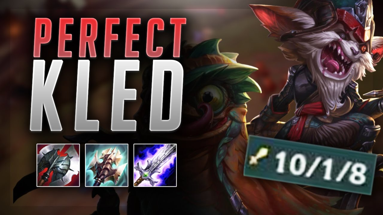 How Is This Kled Able To Deal This Much Damage Full Damage Kled