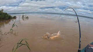 NUNCA JULGUE UM RIO PELA COR DE SUA ÁGUA! Pescaria.