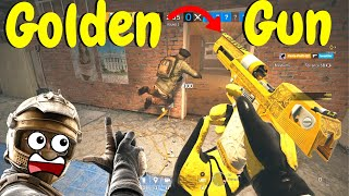 New Gun Game in Rainbow Six Siege (Golden Gun Gameplay)