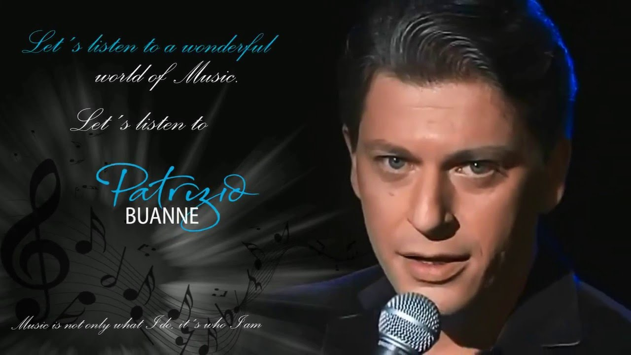 Patrizio Buanne Man Without Love Youtube