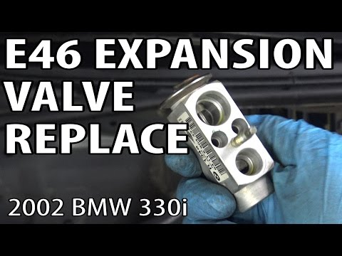 E46 Replace A C Expansion Valve Clean