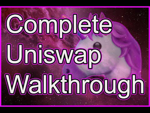 Complete Uniswap Walkthrough - Swapping, Slippage and Liquidity Pools