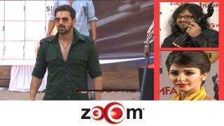 Planet Bollywood News - John Abraham promotes Shootout At Wadala, Candid moments at the 58th Filmfare Awards, & more news