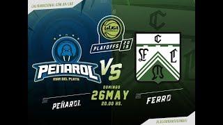 #LaLigadeDesarrollo #Playoff | 25.05.2019 Peñarol vs. Ferrocarril Oeste thumbnail
