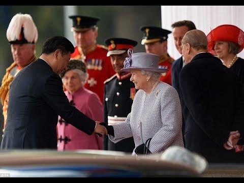 Queen Elizabeth II Gives President Xi Jinping and Peng Liyuan Royal Welcome