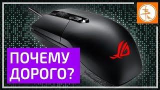 ОБЗОР ASUS ROG Strix Impact - игровая мышь начального уровня