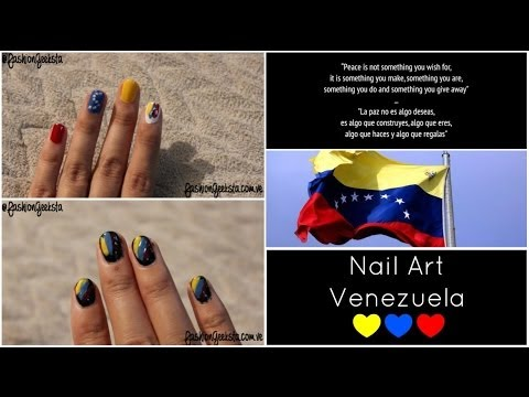 Nail Art - Venezuela ♥
