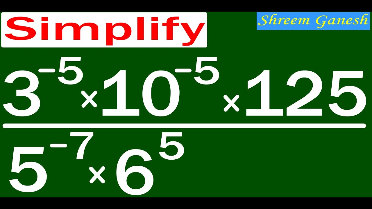 Exponents And Powers Class 8 Ncert Cbse Cce Mathematics Problems