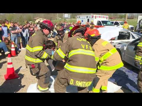 Scott County High School Wreck Demonstration