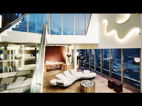 Elegant UltraModern Luxury Penthouse Apartment in Milan